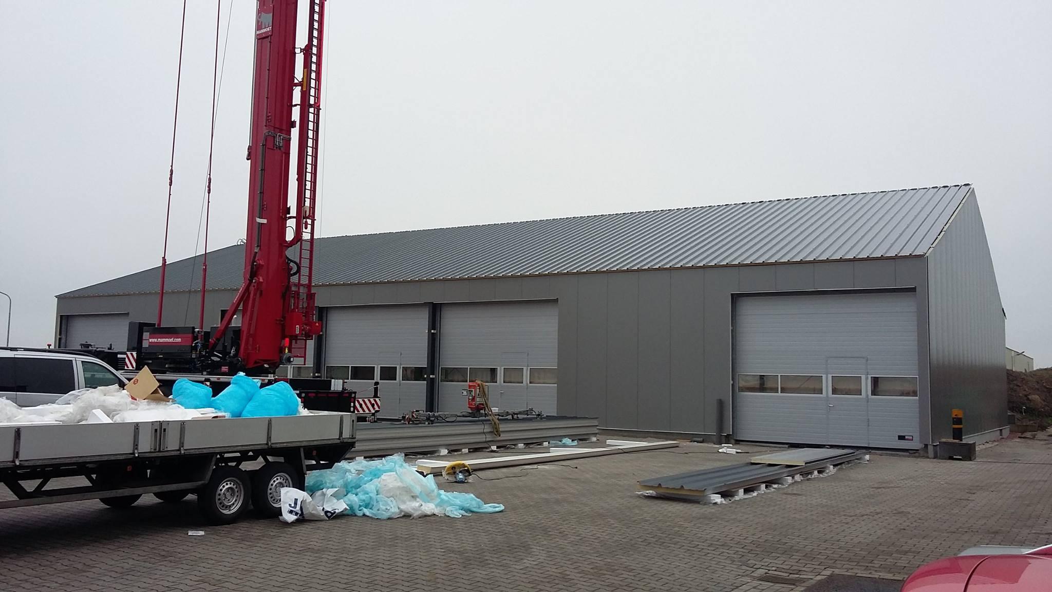 Nieuwe Pand Saadhoff Veendam