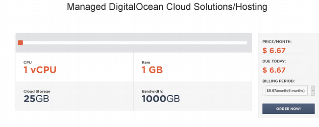 Managed Digital Ocean Cloud Hosting