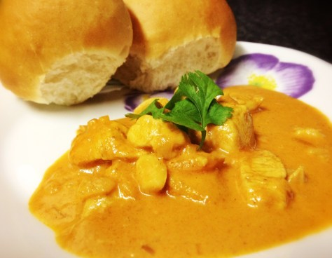 Butter Chicken ready to devour