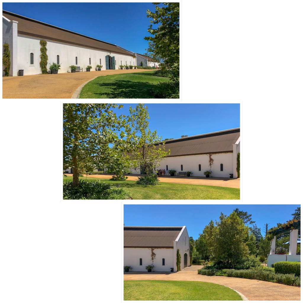 four showrooms at the franschhoek motor museum