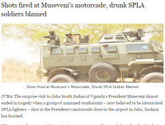 09: Pres. Museveni visits Juba, then this happened...