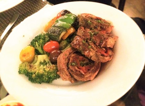 Beef fillet Roulade