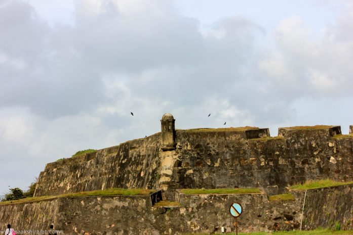 galle fort in galle, srilanka