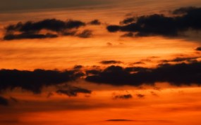 orange-sky-dark-cloud-wallpaper