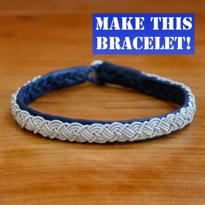 Celtic Four Braid Sami Bracelet Kit