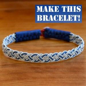 Four Braid Color Band Sami Bracelet Kit