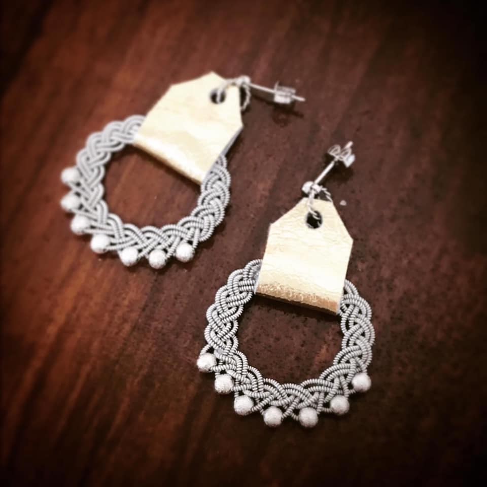 Saami Inspired Earrings created by Emi Sawaishi from Japan