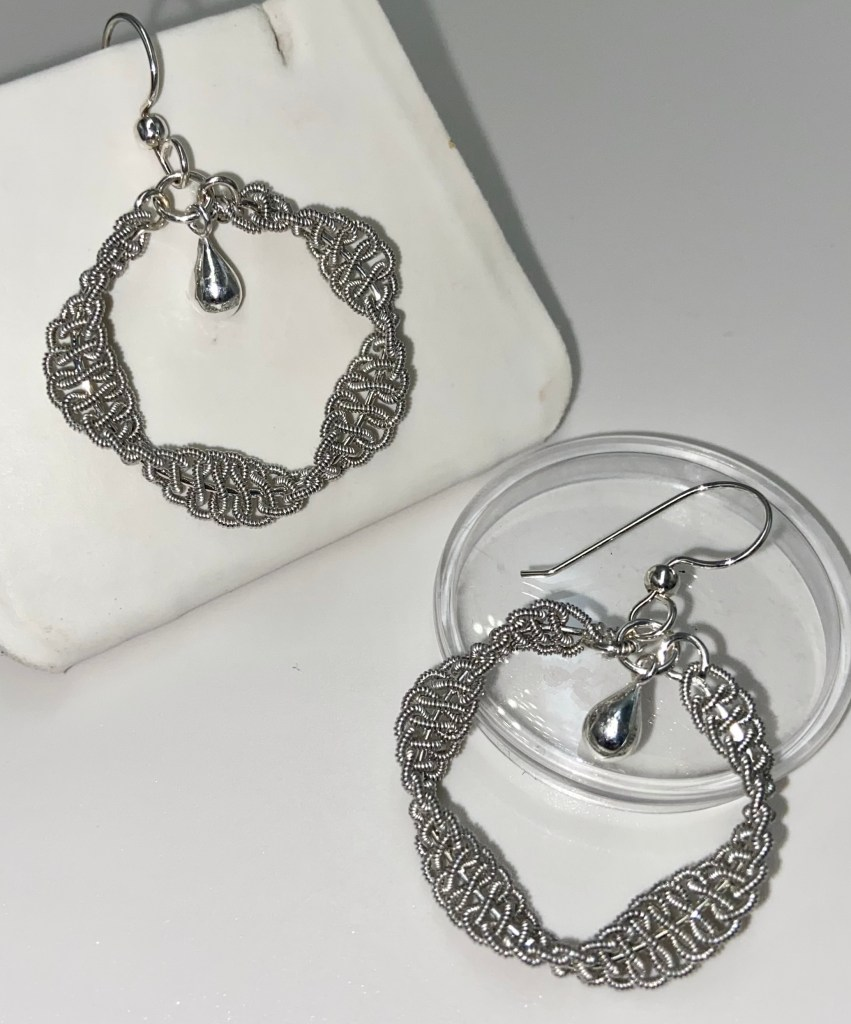 New! Sámi Inspired Sparkly Hoop Earrings