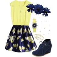 flower print poise skirt