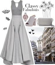 classy in gray