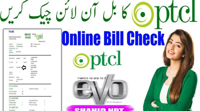 Check PTCL Telephone Bill Online - Duplicate PTCL Bill Download