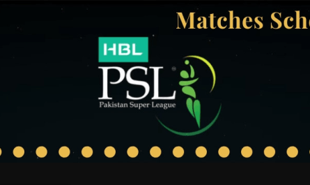 PSL 2019 Schedule with ALL PSL Matches in Pakistan and UAE, PSL Schedule 2019, PSL 2019 Schedule