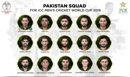PCB announced Cricket Squad for ICC Cricket World Cup 2019 - Amir Dropped