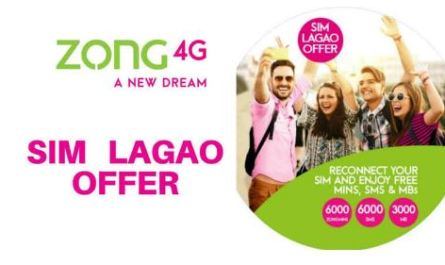Zong Sim Lagao Offer 2020 - Free Minutes, MB's and SMS