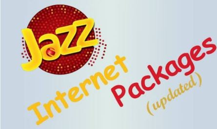 Jazz 3G/4G Monthly Internet Packages 2020