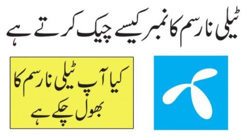 How to Check Telenor Number – Telenor SIM Check Code 2020 21