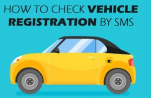 How to Check Vehicle Registration Through SMS 8521 - Lahore, Karachi, Islamabad