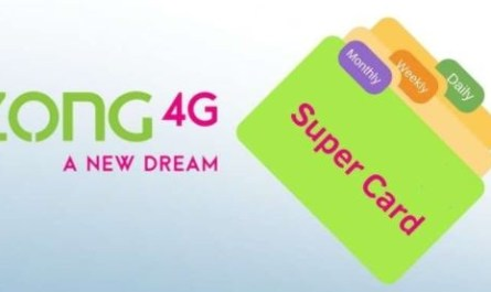 Zong Super Card Packages - 500 - 650 - 800 Full Details