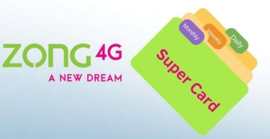 Zong Super Card Packages – 500 – 650 – 800 Full Details
