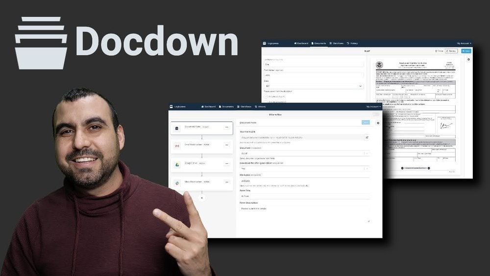Automate PDF with templates using Docdown Appsumo Lifetime deal