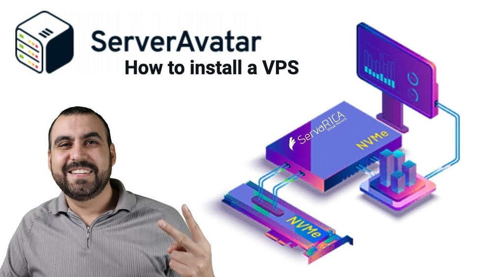 How to install VPS and WordPress on ServerAvatar using a Servarica VPS