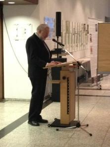 Grußwort von Karl Hafen Geschäftsf. Vorsitzender, Internationale Gesellschaft für Menschenrechte (IGFM)