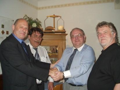 Petr Šimaček, Otokar Löbl, Peter Wagner, Andreas Kalckhoff