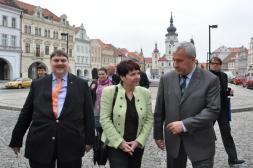 Posselt, Bürgermeisterin und Minister