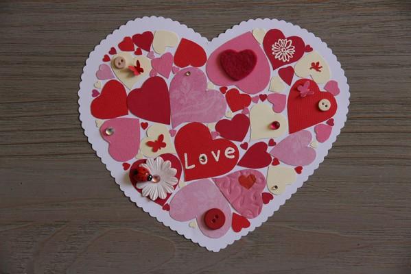 Des coeurs dans un coeur