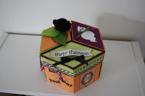 Un trio de boites pour Halloween