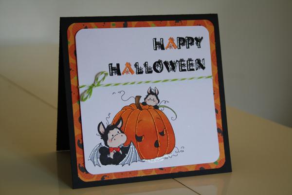 Des chauves-souris pour Halloween