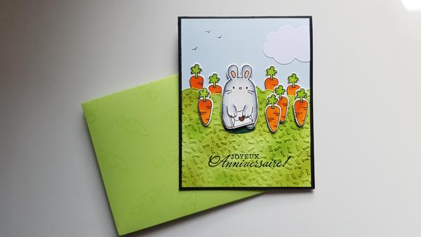 Un lapin fou de carottes !