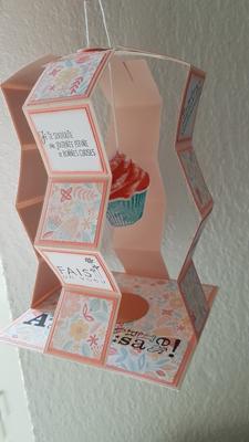 Carte d'anniversaire – Scrap