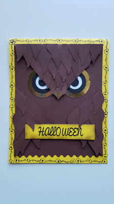 TUTORIEL Hibou Halloween