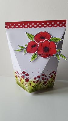 Tutoriel : Boite à ouverture facile – Painted Poppies de Stampin'up