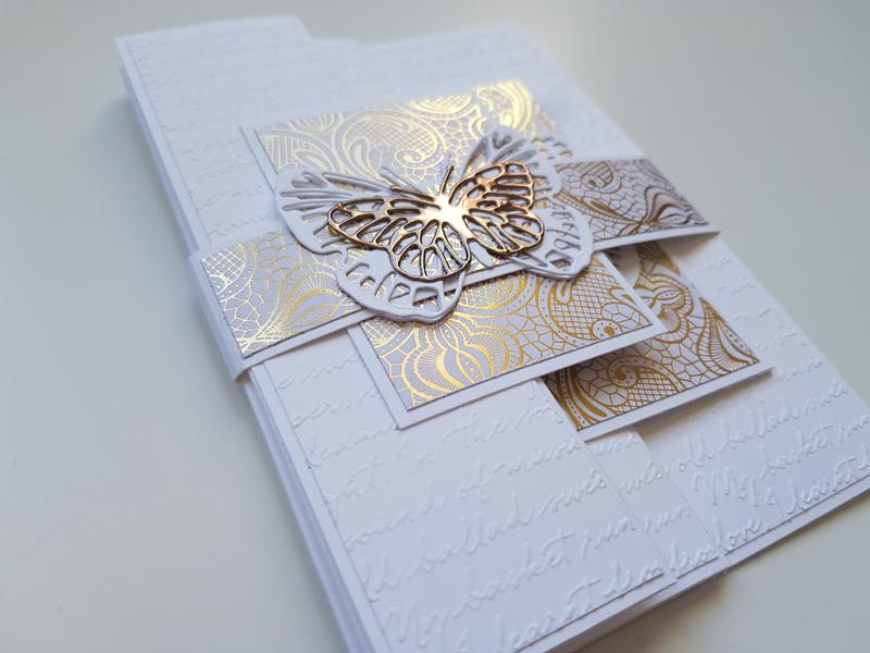Tutoriel facile : Carte mariage