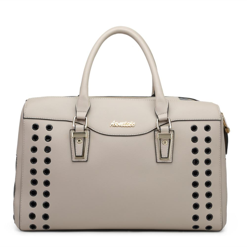 1Pc Luxury PU Leather Pet Carrying Bag