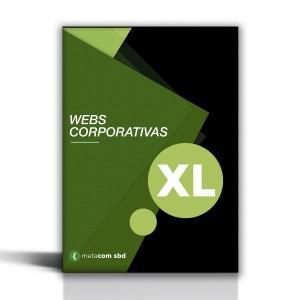 Pack de web corporativa para grandes empresas en sbd