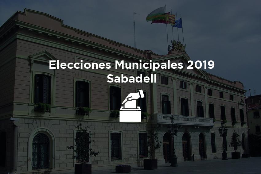 foto de elecciones municipales sabadell 2019
