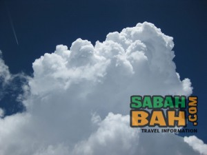 This particular cloud was experienced up close at the peak of Mt. Kinabalu. Moments later it was bucketing down with rain