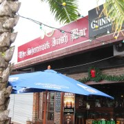 Shamrock Irish Bar in the Waterfront KK