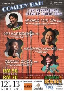 Comedy Bah - Live International Standup Comedy