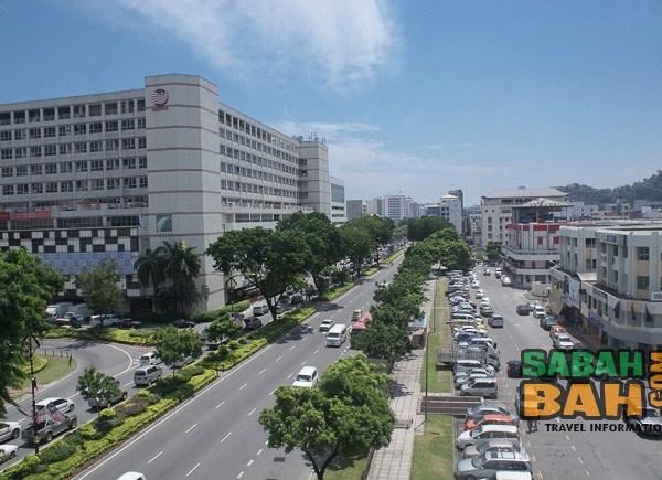 Kota Kinabalu in Sabah, Borneo