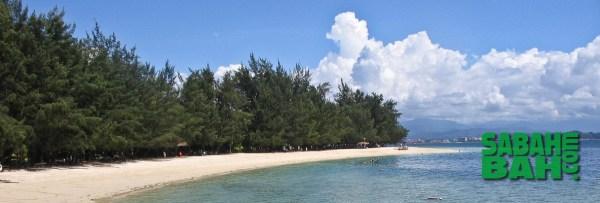 Tunku Abdul Rahman Marine Park (TAR Park) offshore Kota Kinabalu, Sabah