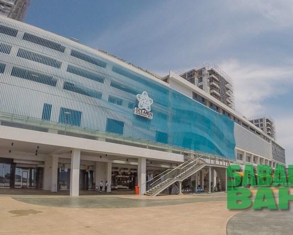 Oceanus Waterfront Mall in Kota Kinabalu, Sabah