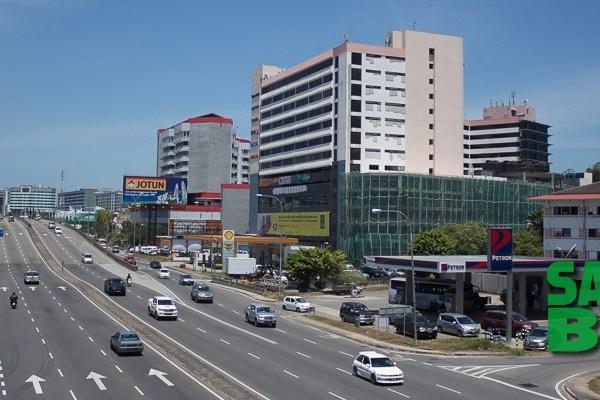 Karamunsing Shopping Complex in Kota Kinabalu, Sabah