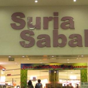Suria Sabah Shopping Mall in Kota Kinabalu
