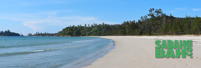 One of the beaches at the Tip of Borneo, Kudat - Book it online with SabahBah.com