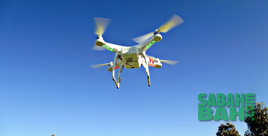 Drone aerial cinematography - Kota Kinabalu, Sabah, Borneo