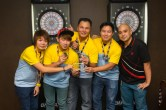 Runner-up: Team Prima BESS. Kim Fung, Gilbert, Prima Cheng, Sam Chu and Alan Lind.